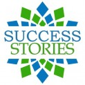 Success Stories Blue Green Square