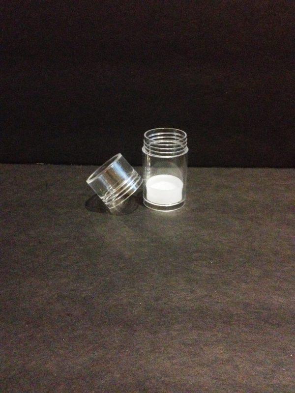 1 oz lotion bar push up clear PET plastic